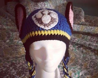 Crochet Rescue Pup Hat