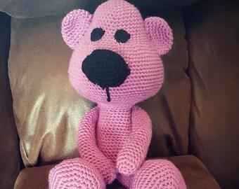 Crochet Stuffed Bear