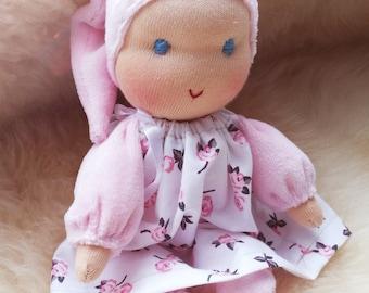 Cuddly Doll by Waldorf Art
