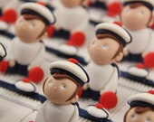 Dragees boxes sailors sea...