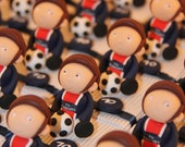 Football soccer theme candy boxes