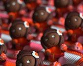 Girls and ladybugs spring...