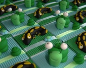 Salamanders and snails nature theme candy boxes