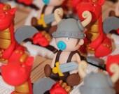 Box dragees babies viking...