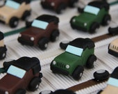 Box dragees cars 4 x 4 ca...