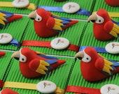 Parrots theme bird boxes