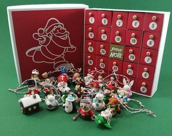 Advent Calendar Mini Christmas Tree Suspensions