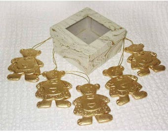 Christmas Golden Bears decorations