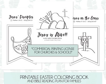 picture regarding Holy Week Activities Printable identify Holy 7 days routines Etsy