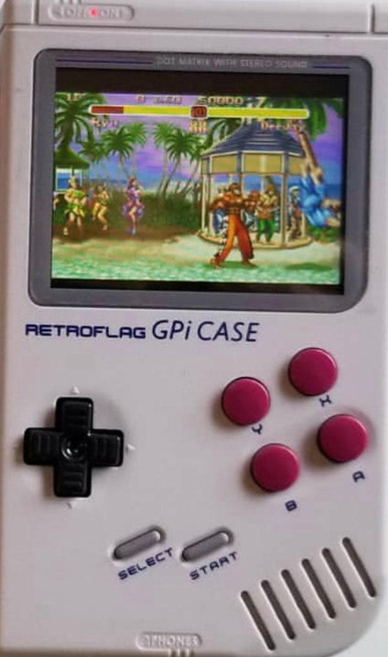 Retropie Handheld Fits In Your Pocket! Safe Shut Down Games 11,000