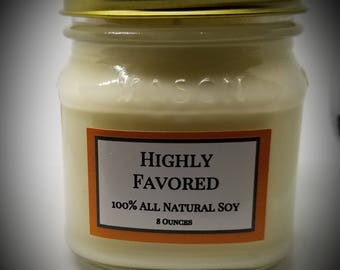 Highly Favored Candle