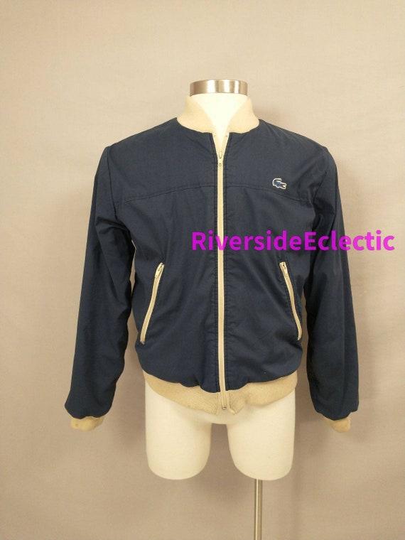 Vintage Lacoste Izod Sportswear Jacket 70's Qualit