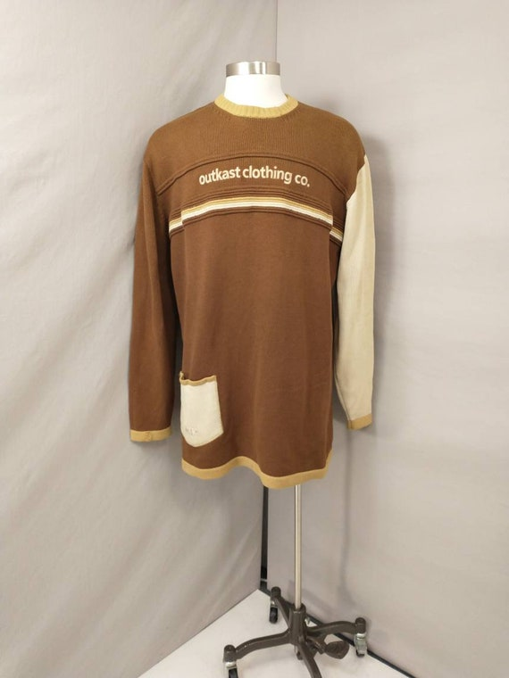 Rare Vintage Outkast Clothing Tunic Sweater 1980's