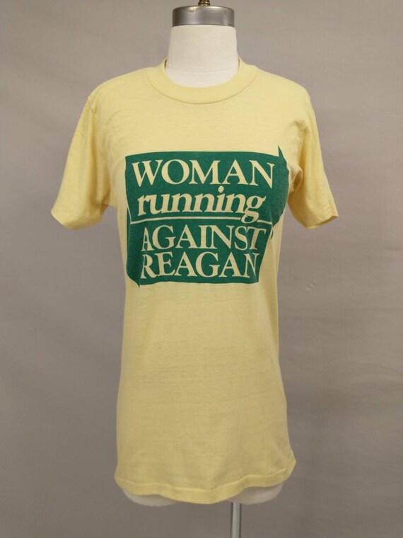 1980's Vintage T Shirt Political Feminist Women Ru