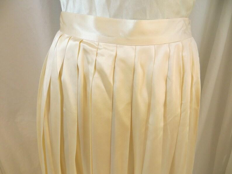 0374595975 Vintage Silk Satin Christian Dior Skirt 70's 80's | Etsy