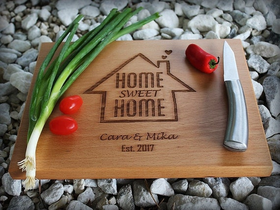 Realtor marketing First Home housewarming gift Cutting board Home sales New Home Welcome Home Real estate Closing Gift Client gift