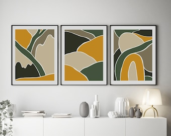Set of 3 Wild Collection Prints