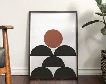 Autumn 'Jessica' Abstract Print