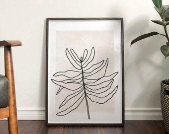 Autumn 'Wispa' Abstract Print