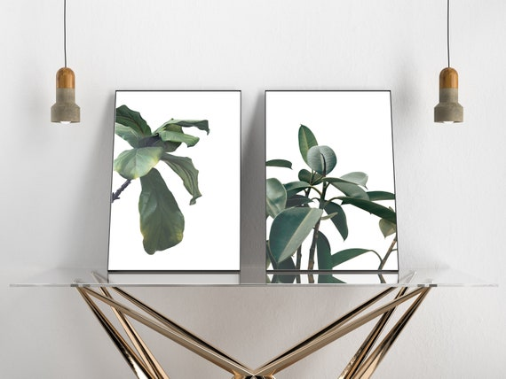 Set Of 2 Gallery Wall Art Poster Prints Minimalist Indoor Etsy