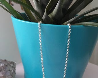 Sterling Silver XOXO Necklace  |  Love Necklace  | Hugs And Kisses Necklace  |  XOXO  |