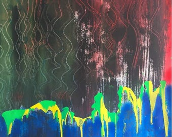Original paintings made in abstract art