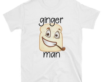 Ginger Bread Man Funny Father's Day T-Shirt Gift