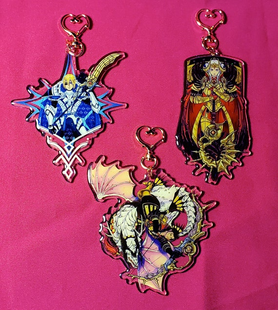 Fire Emblem Three Houses Lords Maid Charms.