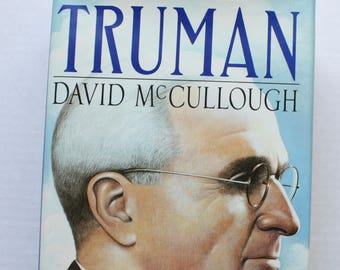 Truman Biography Etsy