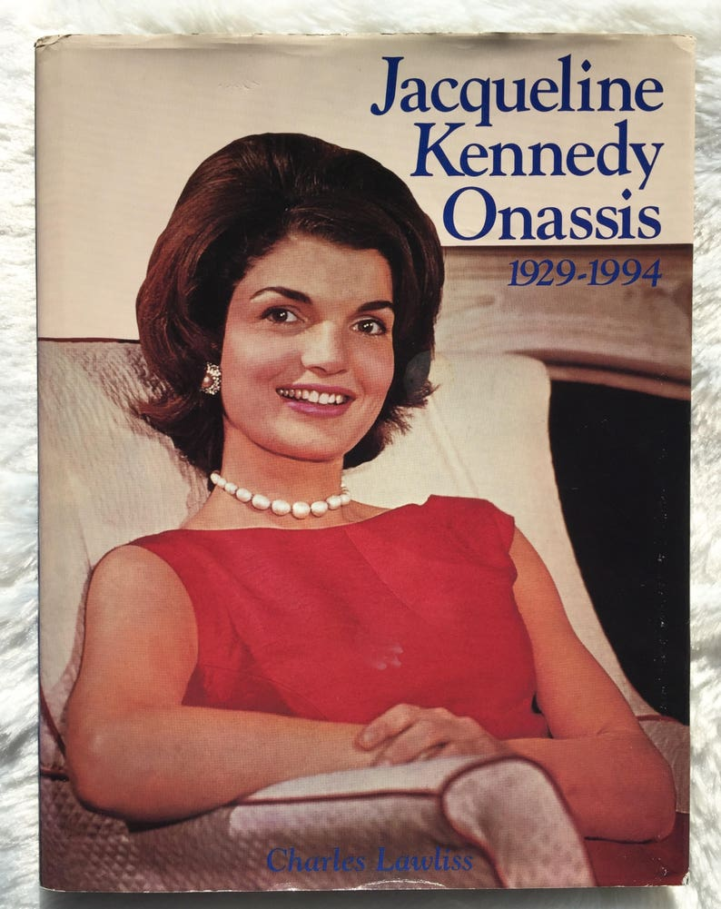 Jacqueline Kennedy Onassis 1929-1994  1994 vintage book about Jackie  Kennedy, Jackie O, biography, Camelot, First Lady, collectible