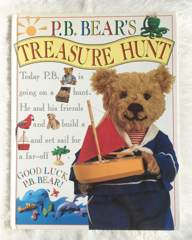 P B Bear S Treasure Huntvintage Children S Book Pb Etsy