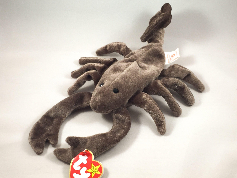 4eab5ae56e9 Stinger the Scorpion Plush TY Beanie Baby Retired Vintage
