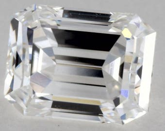 GIA 0.78ct Emerald cut Diamond GIA certified D-VVS2 Blueriver4747 Loose Diamond Engagement Ring GIA