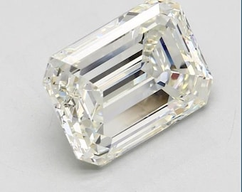 GIA 7.23ct Emerald Diamond GIA certified K-VS2 Blueriver4747 Loose Diamond Engagement Ring GIA 3 payments Layaway