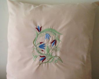 Embroidered Cushion Covers.