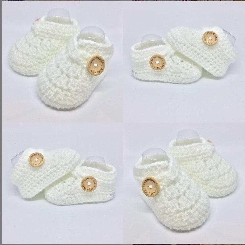 Crochet baby booties crochet baby shoes