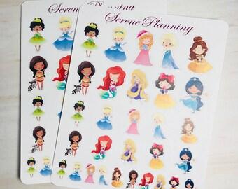 SP-064 Princess Planner Stickers