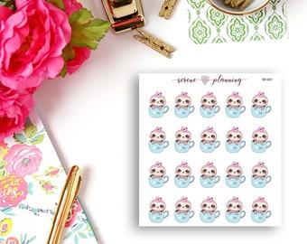 SP-001 Luna Tea Time Planner Stickers
