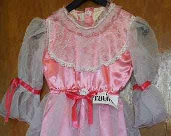 Dress Princess - Pink Tulip