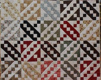 """Handmade quilt 60"""" x 72"""""""