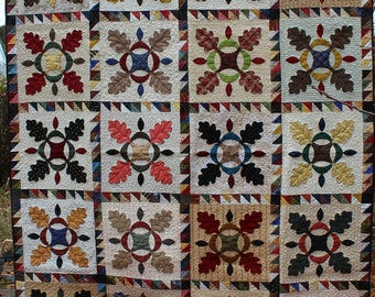 """Handmade Quilt 72"""" x 90"""""""