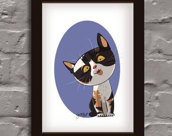 Custom Pet Portrait - Pet Portrait - Pet Memorial - Pet Loss Gifts - Pet Portrait from Photograph - Pet Memorial Picture - Pet Illustration