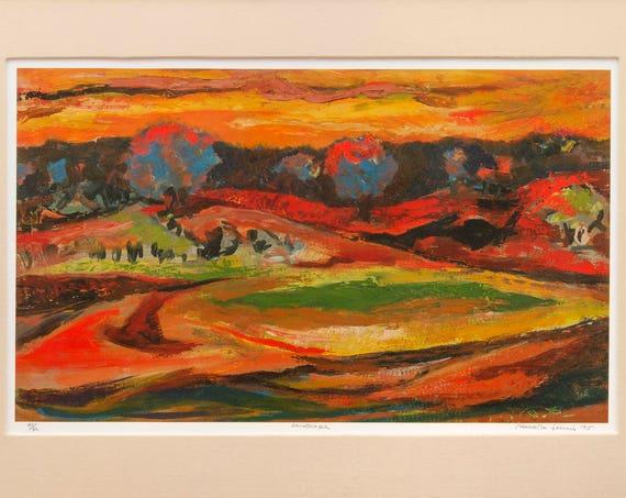 Samella Lewis- Landscape