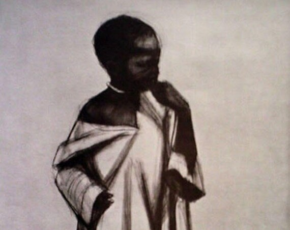 Herman Kofi Bailey- African Series #1 (Offset Print)