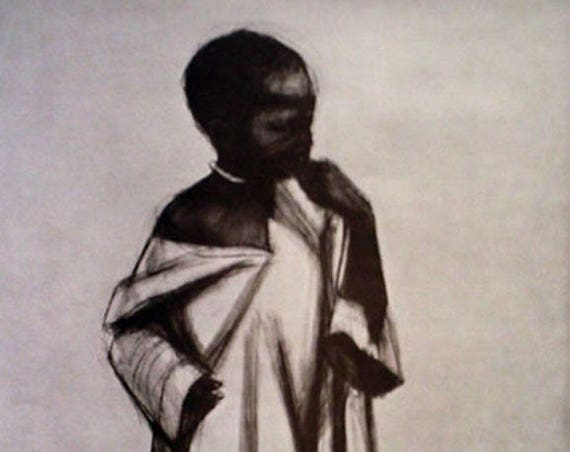 Herman Kofi Bailey- African Series #1 (Offset Print)