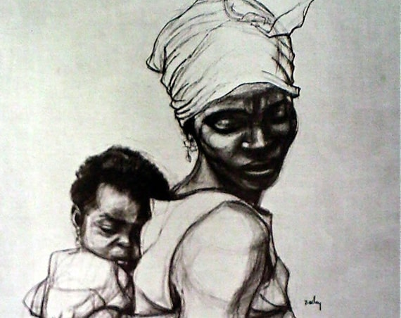 Herman Kofi Bailey- African Series #2 (Offset Print)