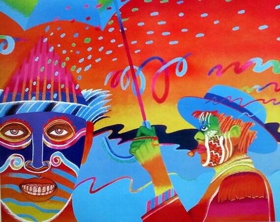 Antonio Ole'- Carnival (Offset Print)
