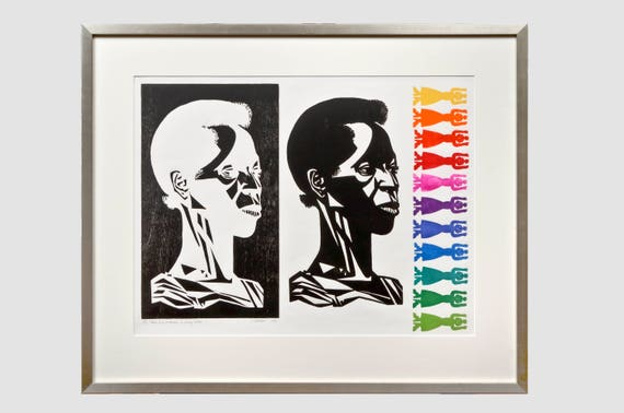 Elizabeth Catlett- There is a Woman of Every Color