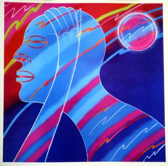 Antonio Ole'- Harmony (Offset Print)