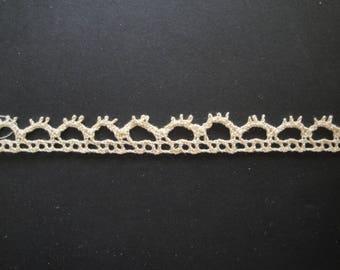 Old openwork lace crochet
